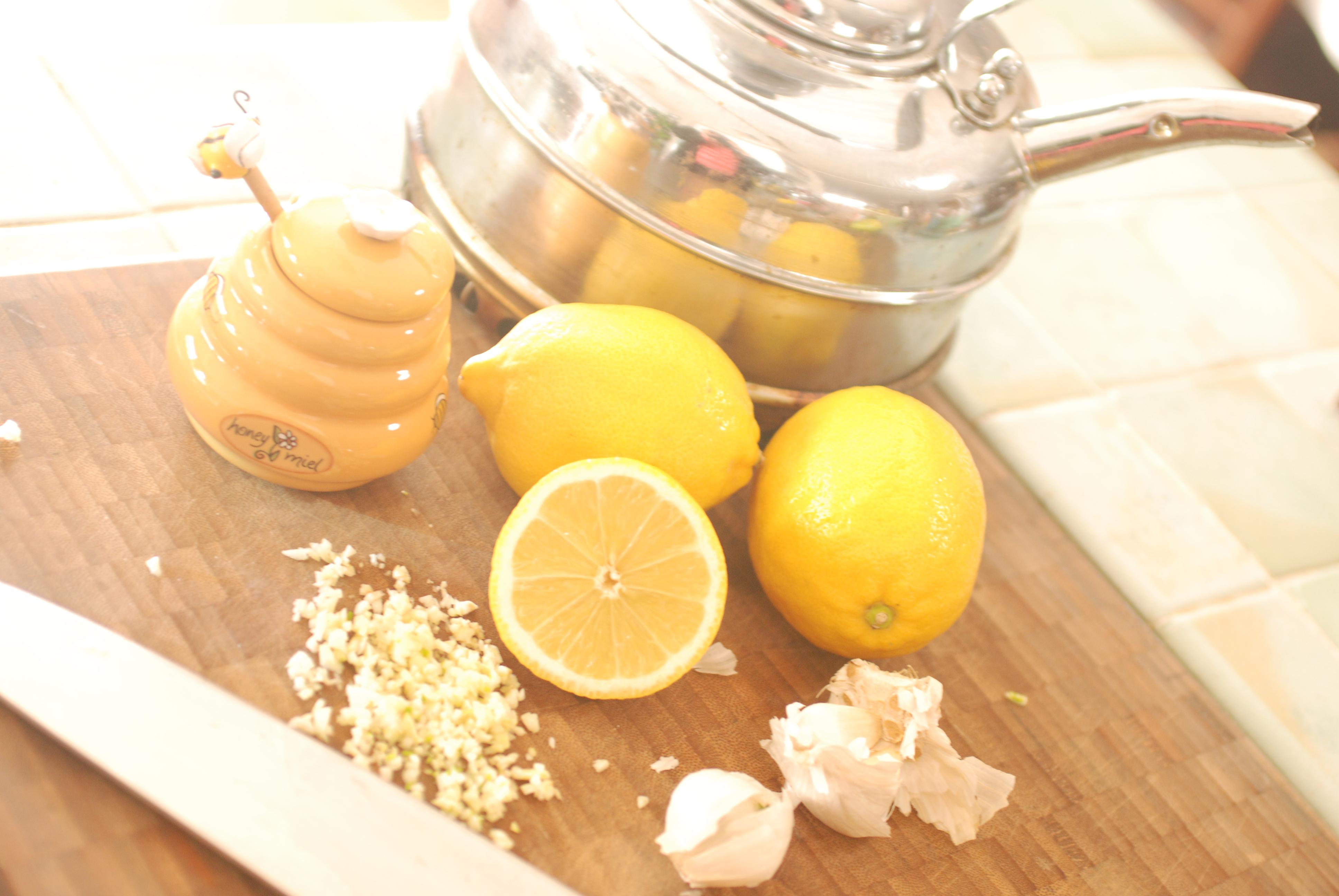Garlic, honey and lemon tea | Zest it Up