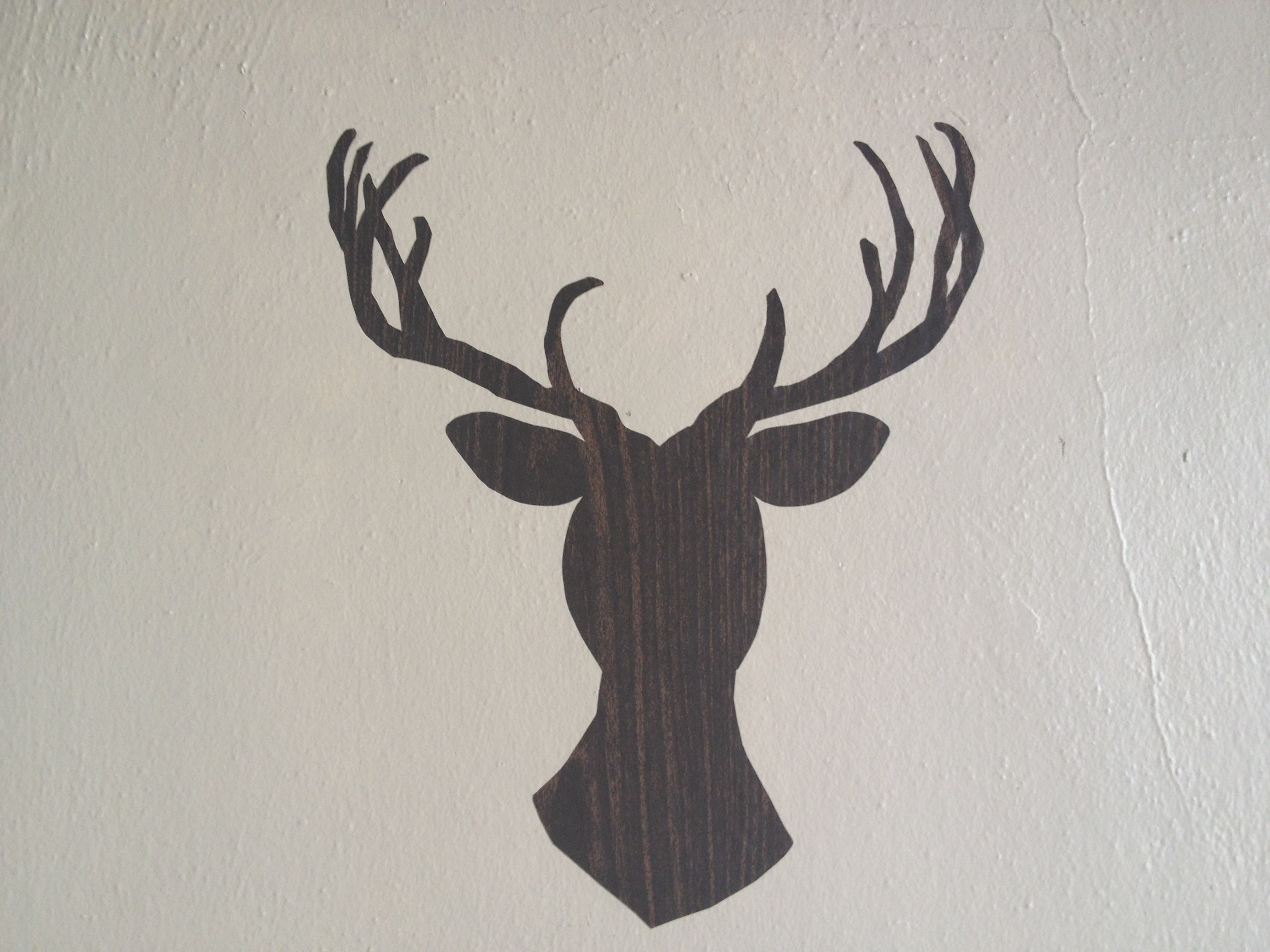 Diy contact paper deer decal zest it up if you have troubles at any step feel free to leave a comment and ill get back to you as soon as i can arubaitofo Images